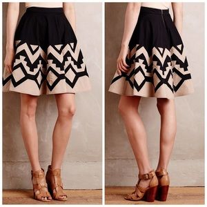 Anthropologie Tracy Reese High Sierra Skirt